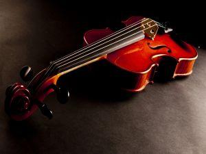A classic violin