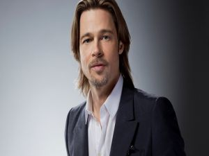 The American actor and film producer Brad Pitt