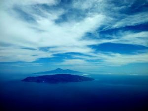 Island of La Gomera, in the Canary Islands (Spain)