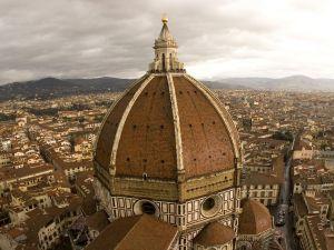 Dome of the Florence Duomo (Basilica di Santa Maria del Fiore), Italy