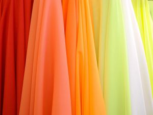 Colored fabrics