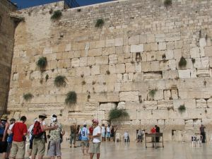 The Western Wall, Wailing Wall or Kotel (Jerusalem)