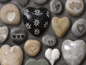Stones and hearts