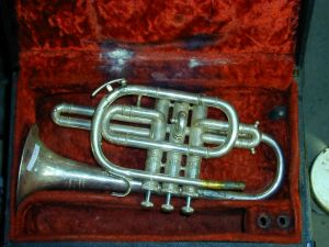 An old trumpet