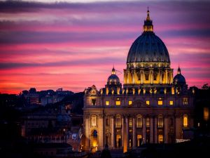 St. Peter's Basilica in Vatican City (Rome, Italy)