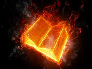 A book of fire
