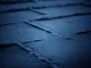 Frosted tiles