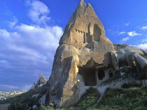 House inside a rock, in Turkey