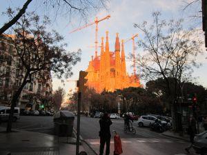 La Sagrada Familia, in Barcelona (Spain)