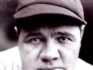 "Babe Ruth, nicknamed ""the Bambino"" and ""the Sultan of Swat"""
