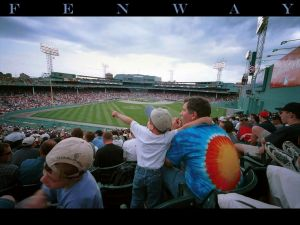 Fenway Park, stadium baseball team Boston Red Sox