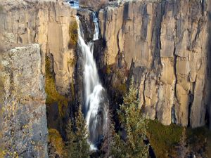 Large waterfall in Colorado (USA)