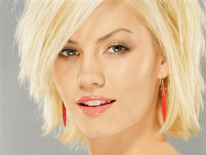 The Canadian actress Elisha Cuthbert