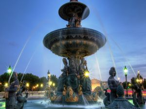 Fountain of River Commerce and Navigation, in the Place de la Concorde, Paris
