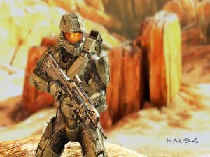 Halo 4, ready for combat