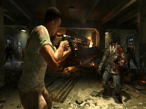 "Decapitating zombies in ""Mob of the dead"" (Call of Duty, Black Ops 2)"