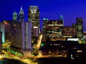 Skyscrapers in downtown Philadelphia, Pennsylvania