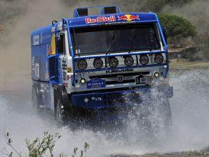 Truck in the Dakar Rally 2013