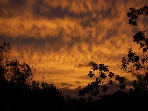 Quilichagüeño sunset, Colombia
