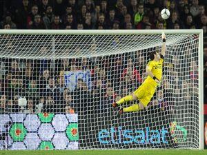 Iker Casillas in goal