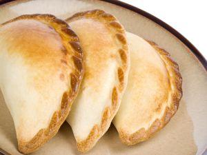 Three Argentine empanadas
