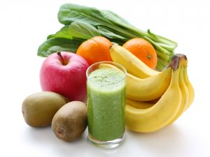 Juice of fruits and vegetables, rich in vitamins