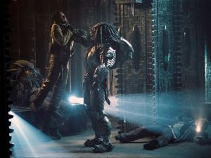 "Scene of ""Alien vs. Predator"""