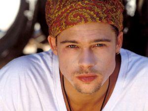 A young Brad Pitt