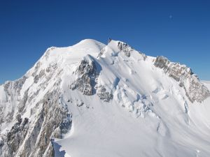 The Mont Blanc in the Alps