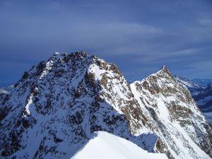 Monte Rosa, in the Pennine Alps