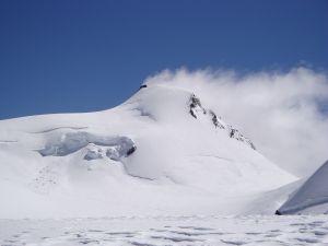 Signalkuppe (Punta Gnifetti) in the Pennine Alps