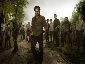 The Walking Dead, characters of the season three