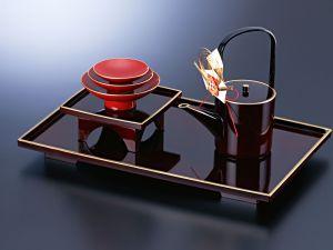 Modern tea tray
