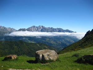 View of the Picos de Europa, Asturias, Spain