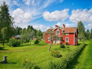 Country house with large green areas