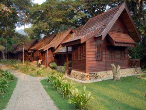 Small cabins semi-detached
