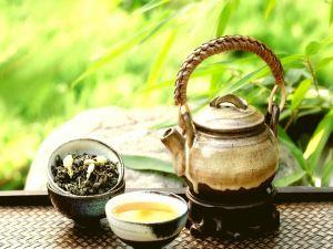 An authentic green tea