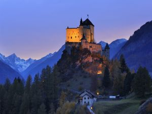 Tarasp Castle, Switzerland