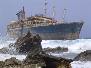 Wreck of the American Star (SS America)