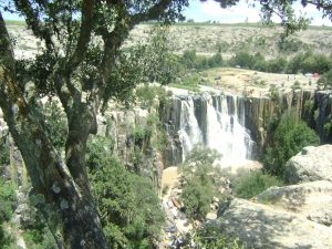 Waterfalls in Aculco, Mexico