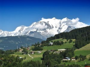 The Mont Blanc or Monte Bianco