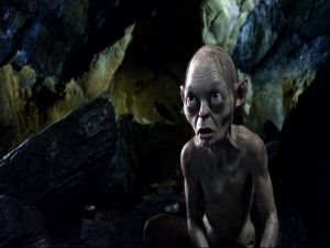 Gollum in The Hobbit
