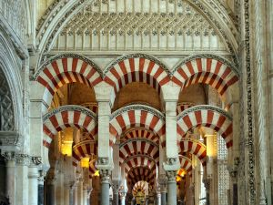 The Mosque of Cordoba (Spain)
