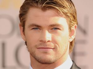 The actor Chris Hemsworth
