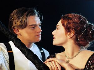 Protagonists of the film Titanic