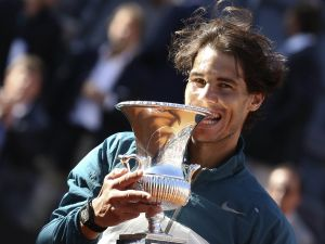 Rafa Nadal, winner of the 2013 Rome Masters