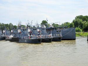 Boats on the Danube (Romania)