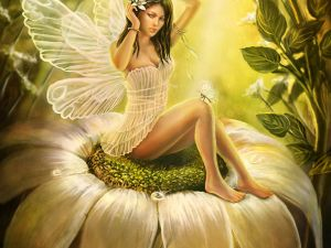The floral fairy