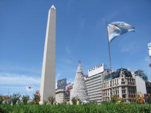 The Obelisco de Buenos Aires, Argentina