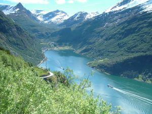 Geiranger Fjord (Geirangerfjord), Norway
